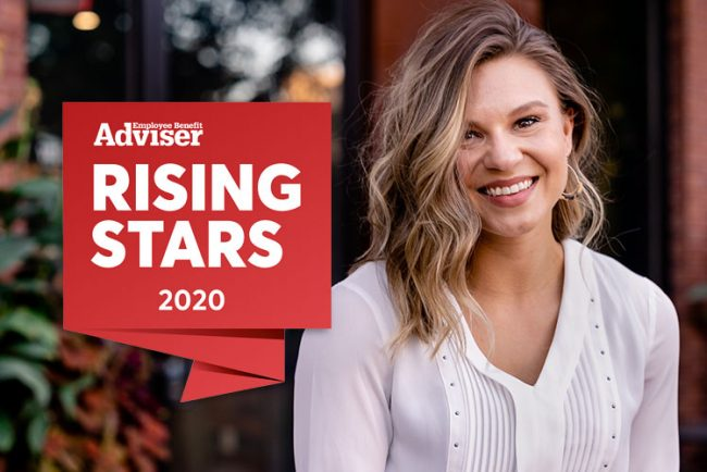 Jessica featured as EBA Rising Star 2020